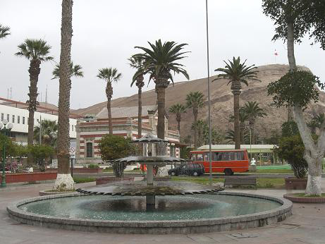Plaza in Arica